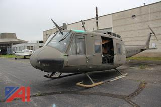 Vintage Bell UH-1H Helicopter
