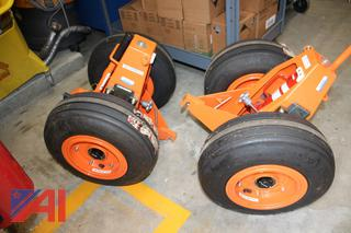 BAC Mechanical Helicopter Ground Handling Wheels