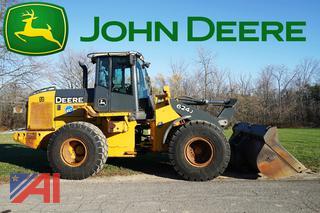 2006 John Deere 624J Wheel Loader