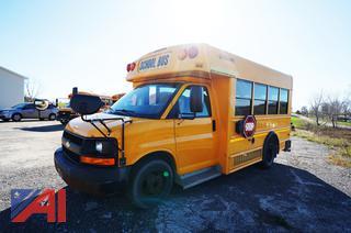 2009 Chevy/Collins Express 3500 Mini School Bus/42
