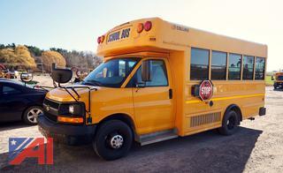 2009 Chevy/Collins Express 3500 Wheelchair Mini School Bus/43