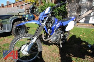 2009 Yamaha TT-R125LE Motorcycle