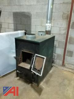 2' x 4' Wood Burning Furnace with Blower