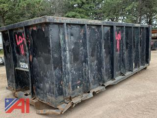 25 Yard Roll Off Container/Dumpster