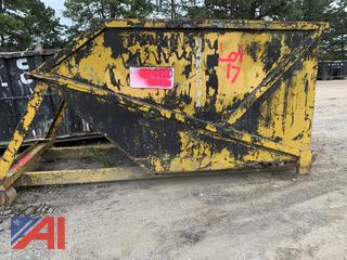 6 Yard Roll Off/Hook Dumpster