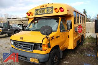 2007 Thomas E450 Wheelchair Mini School Bus