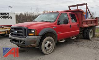 2005 Ford F550 XL Super Duty Dump Truck