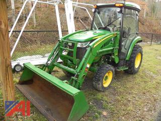 2017 John Deere 3033R Tractor with Front Loader