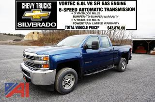 REDUCED BP 2018 Chevy Silverado 2500 HD Double Cab Pickup Truck