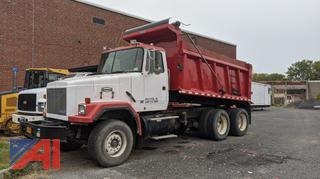 1995 White/GM Auto Car Dump Truck