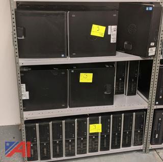Dell & HP Desk Top Computers