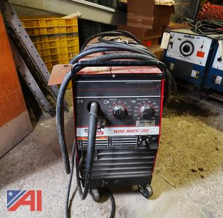 Lincoln WireMatic 250 1PH  Welder