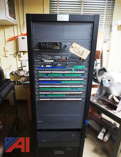 Rauland Rack Mount Building PA System