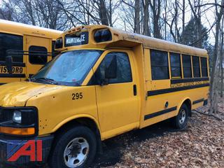 (#295) 2006 Chevy G3500 Express Mini School Bus