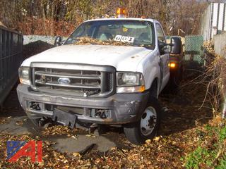 2003 Ford F350 XL Super Duty Stake Bed Truck