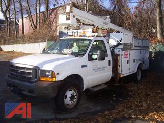 2001 Ford F450 Super Duty Utility Bucket Truck