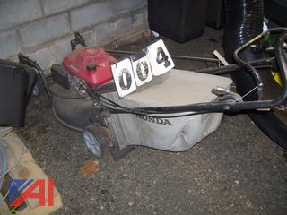 "Self Propelled 21"" Honda Mower"