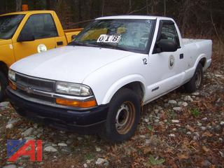 2001 Chevy S10 Pickup Truck