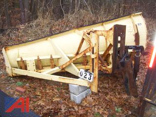 Flink 10' RH One Way Plow