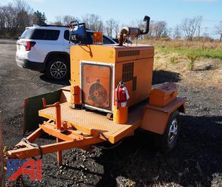 Tow Behind Onan 7.5kva Generator, #2