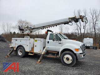 2008 Ford F750 Digger Truck