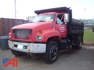 1997 GMC C6500 Dump Truck with Plow