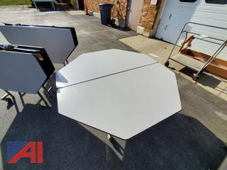 Octagon Folding Tables