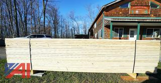 Banded Lift of 320BF White Ash Lumber
