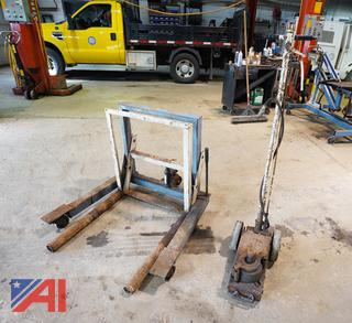 Dual Tire Jack & Air Over Hydraulic Jack