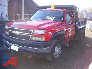 2006 Chevy Silverado 3500 Dump Truck