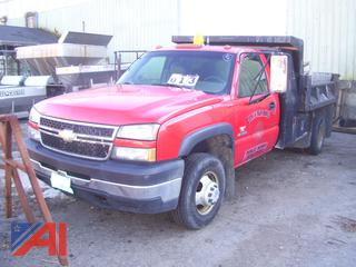 2007 Chevy Silverado 3500HD Dump Truck