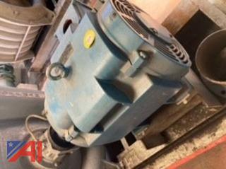 Blue Electric Motor