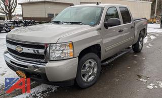 *Lot Updated* 2009 Chevy Silverado Hybrid Crew Cab Pickup Truck