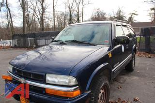 2002 Chevy Blazer SUV (Parts Only)