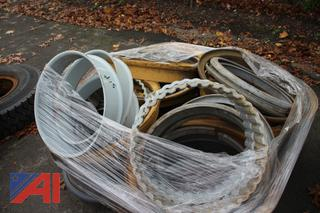 Pallet of Mack Truck & Other Tire Spacers