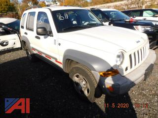 (#611) 2005 Jeep Liberty SUV