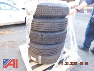 (#1595) 9R17.5 Tires, New/Old Stock