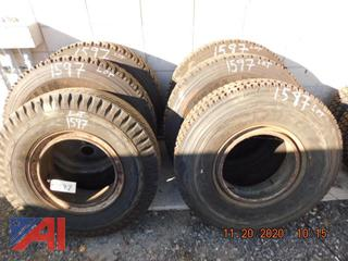 (#1597) Various Size Tires