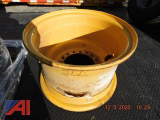 (#1599) Volvo Wheel Loader Rim, New/Old Stock