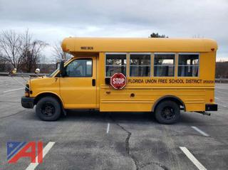 (#7) 2006 Chevy Express G3500 Mini School Bus