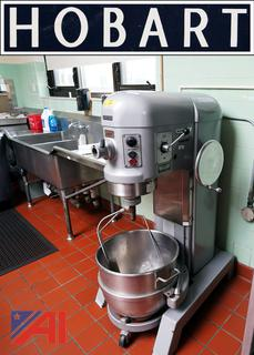 Hobart 60QT Dough Mixer with Accessories/MS