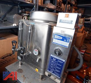 Cecil Ware #FE-75 Automatic Commercial Coffee Urn/MS