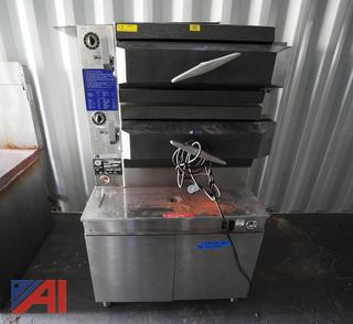 Cleveland #PGM2300 Gas Heated Broiler Pressure Double Steamer/HS