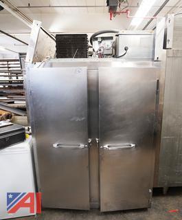"""Continental 52"""" Double Door Freezer"""