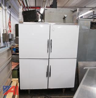 Koch #M-2 4 Door Hi/Lo Refrigerator