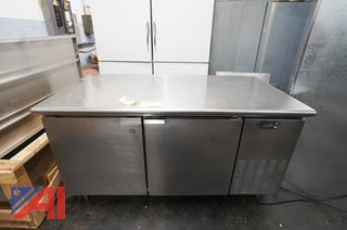 """Continental Refrigerated Counter, 68"""" x 3'"""