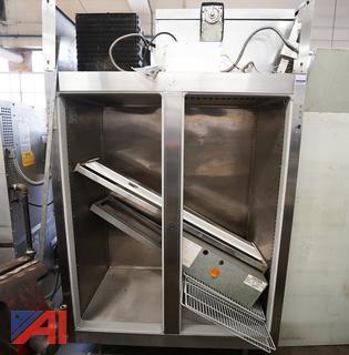 Victory #FS-2D-S7 2 Door Freezer