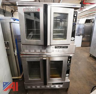 Blodgett Intellitouch Double Stack Gas Convection Ovens