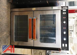 Vulcan Double Stack Convection Ovens