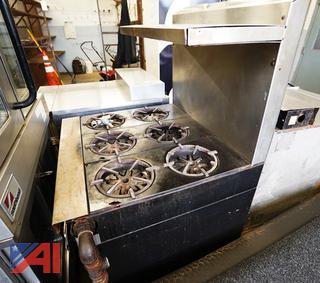 Garland 6 Burner Gas Range/Oven